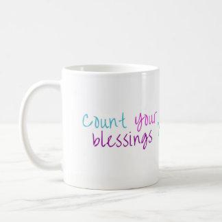 Staub-Häschen zählen Ihre Segen-Tasse - keine Kaffeetasse
