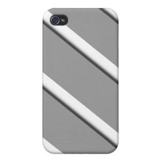 Staubige graue Streifen iPhone 4/4S Hülle