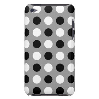Staubige graue Tupfen Barely There iPod Case