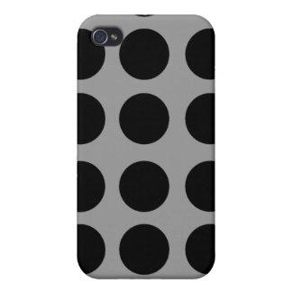 Staubige graue Tupfen iPhone 4 Hülle