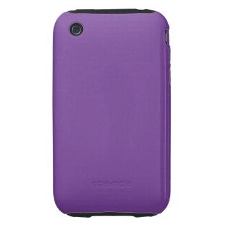 Staubige lila Farbe iPhone 3 Tough Etuis