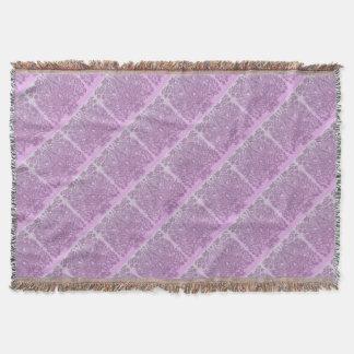 Staubige rosa Verzierung Decke