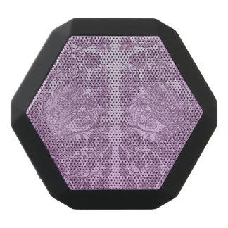 Staubige rosa Verzierung Schwarze Bluetooth Lautsprecher