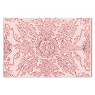 Staubiges Rosa - Kunst Nouveau Seidenpapier