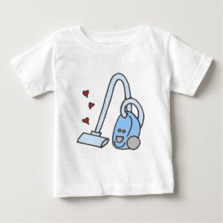 Staubsauger mit Herzen Baby T-shirt