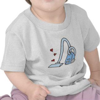 Staubsauger mit Herzen T Shirts