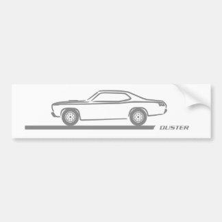 Staubtuch-Grau-Auto 1970-74 Autoaufkleber
