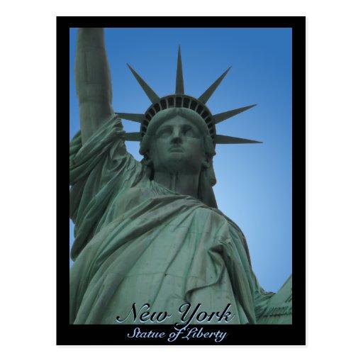 Staue Freiheits-Postkarten-kundenspezifischer New-