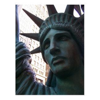 Staute der Freiheits-Postkarte Postkarte