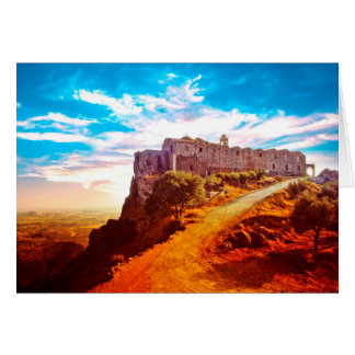 Stavrovouni Kloster Zypern Karte