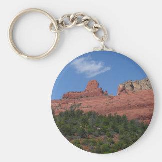 Steamboat-Felsen in Sedona Arizona Fotografie Schlüsselanhänger