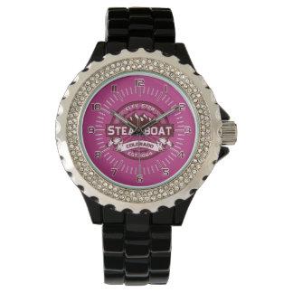 Steamboat-Uhr-Himbeere Uhr