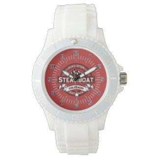 Steamboat-Uhr-Rot Armbanduhr
