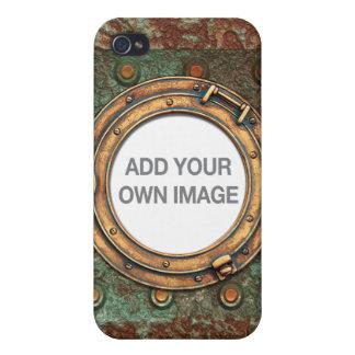 Steampunk 1 Öffnung iPhone 4/4S Hülle