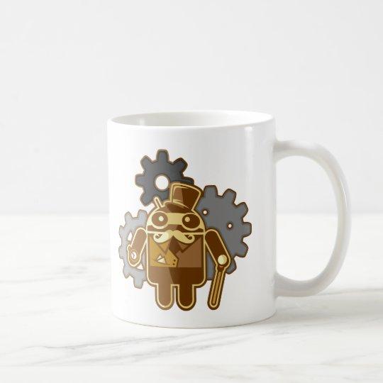 Steampunk Android Kaffeetasse