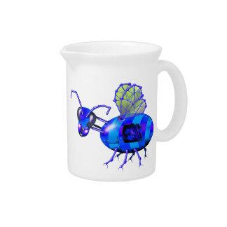steampunk bluebees krug