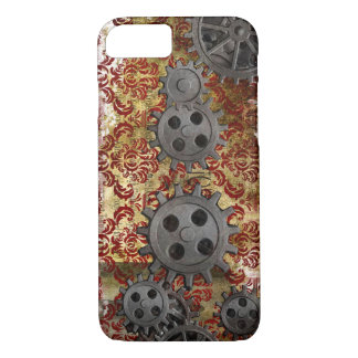 Steampunk Brokat und Gänge 1 iPhone 8/7 Hülle