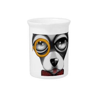 Steampunk Chihuahua-Kunst Getränke Pitcher