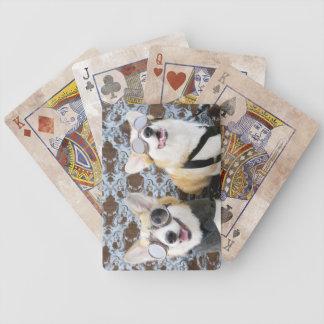 Steampunk Corgis-Fahrrad-Spielkarten Bicycle Spielkarten