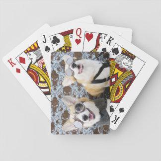Steampunk Corgis Spielkarten