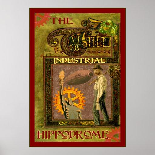 SteamPunk ~ das industrielle Hippodrom Plakat