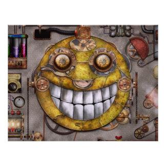 Steampunk - die Freude an der Technologie 21,6 X 27,9 Cm Flyer