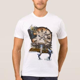 Steampunk Drache-Geschichtenbuch T-Shirt