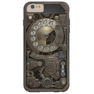 Steampunk Drehmetallskala-Telefon Tough iPhone 6 Plus Hülle