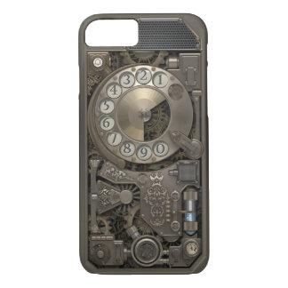 Steampunk Drehmetallskala-Telefon. Fall iPhone 7 Hülle