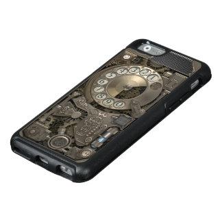Steampunk Drehmetallskala-Telefon OtterBox iPhone 6/6s Hülle