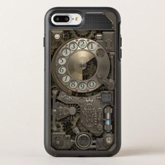 Steampunk Drehmetallskala-Telefon OtterBox Symmetry iPhone 8 Plus/7 Plus Hülle