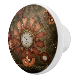 Steampunk, edler Entwurf Keramikknauf