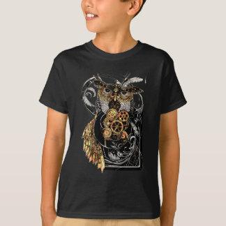 Steampunk Eule T-Shirt