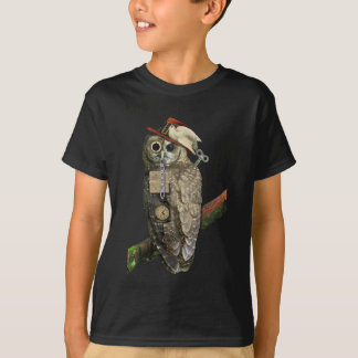 Steampunk Eule T-Shirt