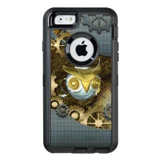 Steampunk, fantastische   mechanische Eule OtterBox iPhone 6/6s Hülle