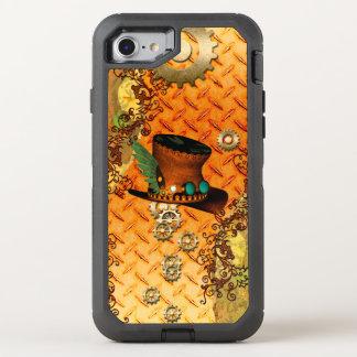 Steampunk, fantastischer Dampfhut OtterBox Defender iPhone 8/7 Hülle
