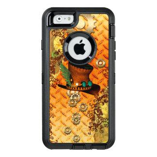 Steampunk, fantastischer Dampfhut OtterBox iPhone 6/6s Hülle