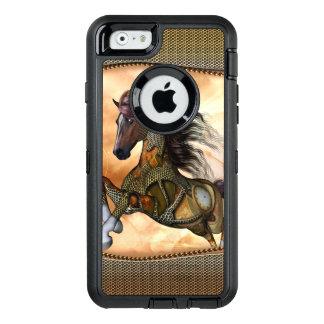 Steampunk, fantastisches steampunk Pferd OtterBox iPhone 6/6s Hülle