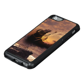 Steampunk Fractalscape, Schiff für alle OtterBox iPhone 6/6s Hülle