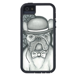 Steampunk Frenchie iPhone Se/iPhone 5/5S Fall Tough Xtreme iPhone 5 Hülle