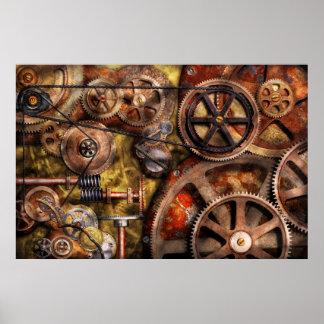 Steampunk - Gänge - innere Funktionen Posterdrucke