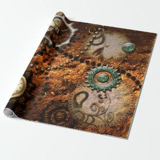 Steampunk Geschenkpapier