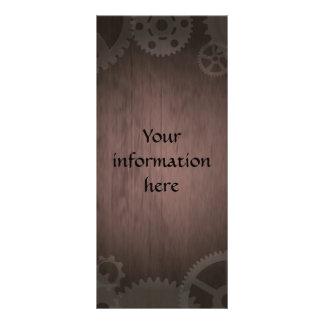 Steampunk Gestellkarten Werbekarten