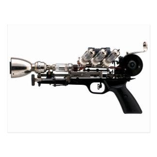 Steampunk Gewehr Postkarte