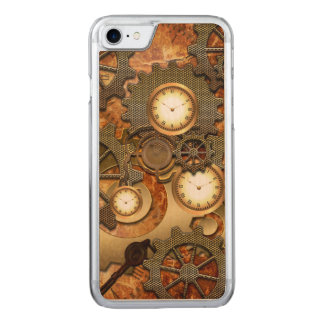 Steampunk in den goldenen Farben Carved iPhone 8/7 Hülle