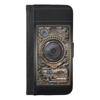 Steampunk Kamera #1 durch G.O.S.Studio. iPhone 6/6s Plus Geldbeutel Hülle
