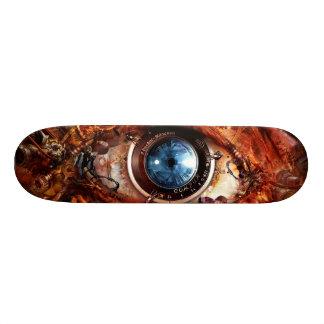 Steampunk Kamera-Auge 19,1 Cm Old School Skateboard Deck