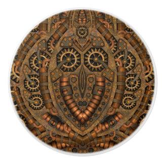 Steampunk kundenspezifischer Keramik-Griff Keramikknauf