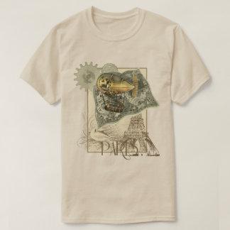 Steampunk lenkbar-Luft-Ausflug-T - Shirt