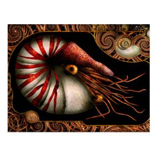 Steampunk - Nautilus - Herauskommen aus Ihre Postkarte